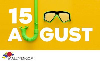 Ωράριο Λειτουργίας 15 Αυγούστου